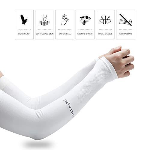 Zoom IMG-2 5 paio manicotti sportivi compressione