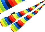 Flames N Games FUNKY® Pro Socken-Poi (RAINBOW) Sock Poi *keine Bälle inkl. Swinging Poi und Spinning Pois! Pois für Anfänger und Profis.