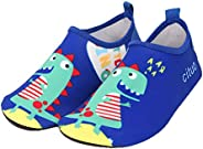 Kids Water Shoes Girls Boys Toddler Quick-Dry Non-Slip Water Skin Barefoot Sports Shoes Aqua Socks for Outdoor