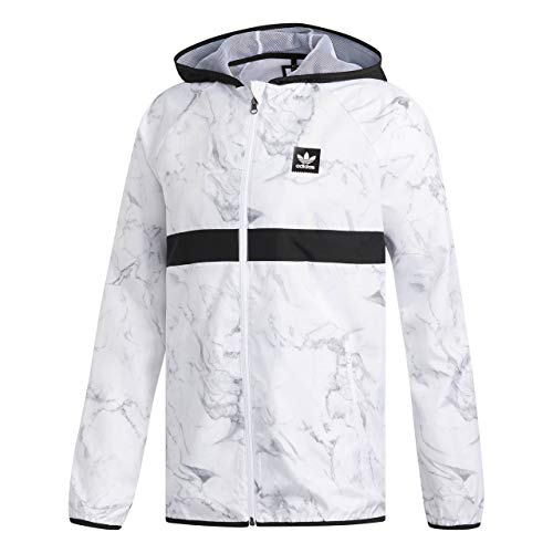 adidas Originals Herren Übergangsjacken Marb Bb Pckble Transition weiß L - Adidas Windbreaker