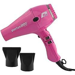 Parlux 3200 Plus - Secador de pelo, color fucsia