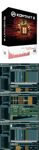 Native Instruments Kontakt 2 - Software Sampler - Vst, Audio Units, Core Audio, Rtas, Dxi, Asio And Direct Sound