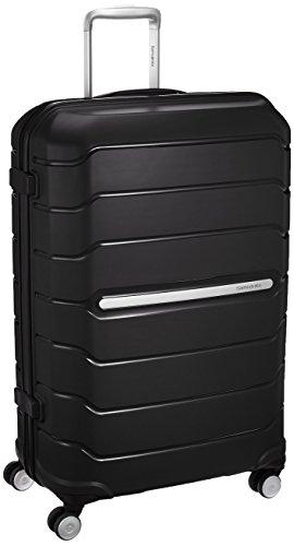 Samsonite Octolite Polypropylene 75 cms Black Hard sided Suitcase (I72...