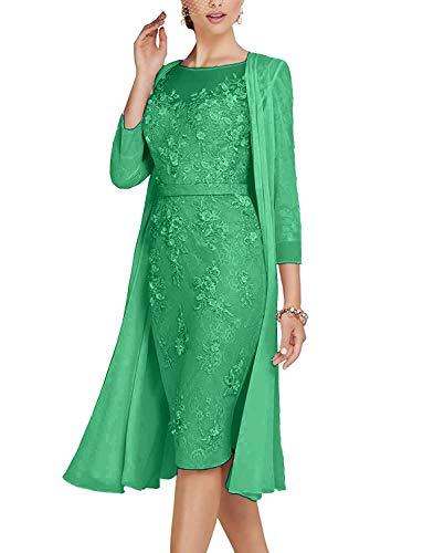 ShineGown Rundhalsausschnitt Mutter der Braut Kleid für