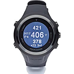VOICE CADDIE T2-BLACK - Reloj GPS para Golf