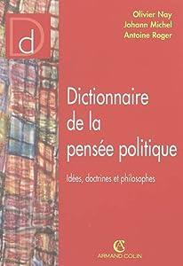 """Afficher """"Dictionnaire de la pensée politique"""""""