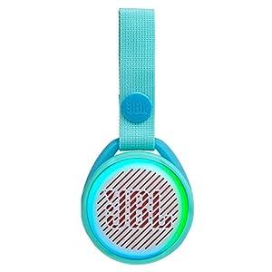 JBL JR POP – Portable Wireless Speaker with Light Feature for Kids – Fun speaker for little music fans – Teal