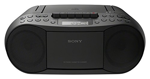 Sony CFD-S70 Boombox (CD, Kasette, Radio) schwarz (Radio Mp3 Player Sony)