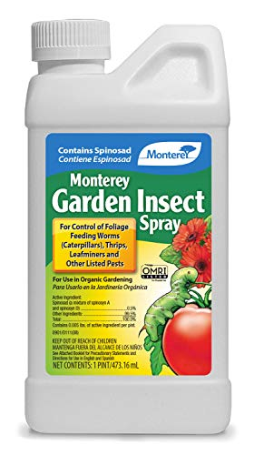 16 Ounce : Monterey Garden Insect Spray with Spinosad Concentrate 16oz