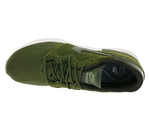 Nike, Hommes, Air Berwuda Prm Obsidian, Suede / Nylon, Sneakers, Bleu Vert Militaire