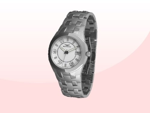 Sandoz 71568-00 – Reloj Col. Diver Acero Sumergible Brazalete metálico
