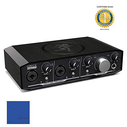 Mackie Onyx Produttore 02-02 FEBBRAIO-in-2-out USB 2.0 Audio Interface