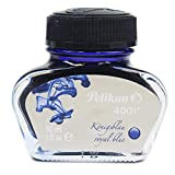 Pelikan 301010 Pelikan Inchiostro Stilografico 4001, Flacone da 30 ml, colore Blu Royal