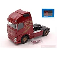 HOLLAND OTO UH2007 Volvo FH Globetrotter XL Euro 6 Cab Wine Red Metallic 1:50