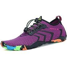 759a1f68abac0 WYSBAOSHU Zapatos de Agua Deportes Escarpines para Hombre Mujer