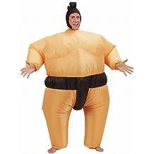 Widmann 7552S - Kostüm Sumoringer, ausfblasbar, One Size