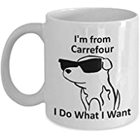 Carrefour Pride Coffee Mug 11oz White Gift Cup