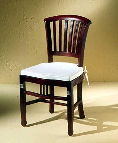 Sit Möbel Stuhl, Mahagoni, Braun, 50 cm l x 55 cm b x 95 cm h