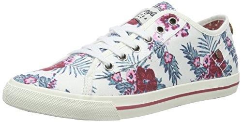 wrangler-starry-low-zapatillas-mujer-sneakers-color-varios-colores-379-flowers-eu-38