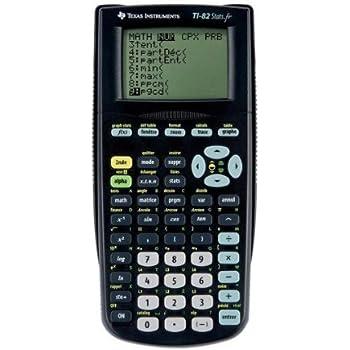 Texas Instruments TI-82 STATS Taschenrechner: Amazon.de