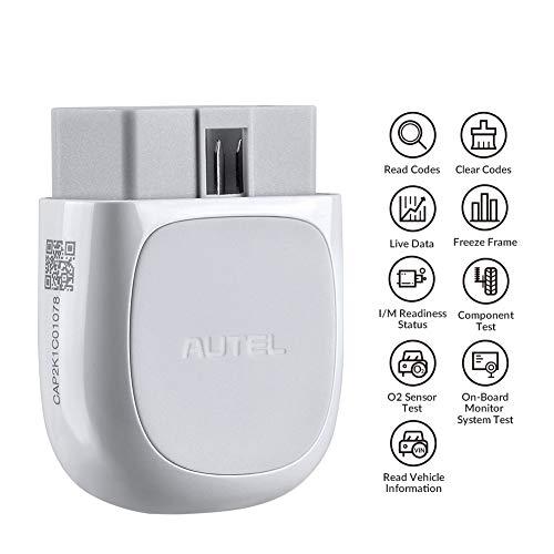 Autel MaxiAP AP200 OBD2 Scanner Adapter mit Allen Systemdiagnosen 19 Sonderfunktionen AutoVin (Bluetooth Edition von MaxiCom MK808)