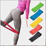 Widerstands Bänder Setzen Übungs Bänder-Workout-Bänder Stretchbänder-Light Medium Heavy Loop Bands Kit Für Legs Butt Glutes Yoga Crossfit Fitness Physiotherapie Hausgeräte Training Für Frauen Männer