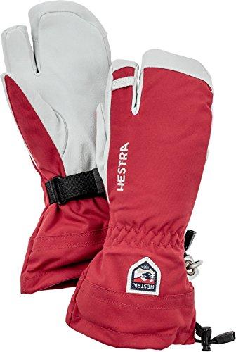 Heli-ski (Hestra Rot Heli Ski 3 finger größe 6 handschuhe)