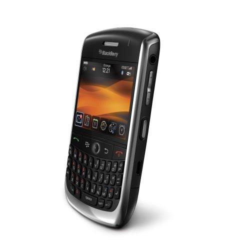 BlackBerry Curve 8900 Smartphone (GPS, QWERTZ-Tastatur, Maps, Organizer, Kamera mit 3,2 MP) schwarz (Blackberry-media-karte)