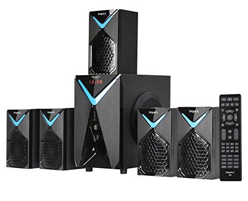 Impex 5.1 BEAT B1 85 W Multimedia Bluetooth Speaker System (Black & Blue)
