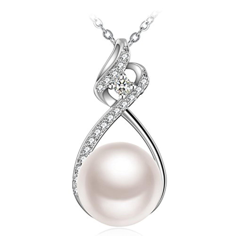 Gespout Collier Bijoux Pour Femme et Fille Alliage Diamond Soir/ée de Mariage Saint-Valentin F/ête des M/ères Cadeaux danniversaire