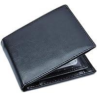Carteras de BaZhaHei, Bifold Business Leather Wallet ID Titular de la Tarjeta de crédito Prime Cartera Business.
