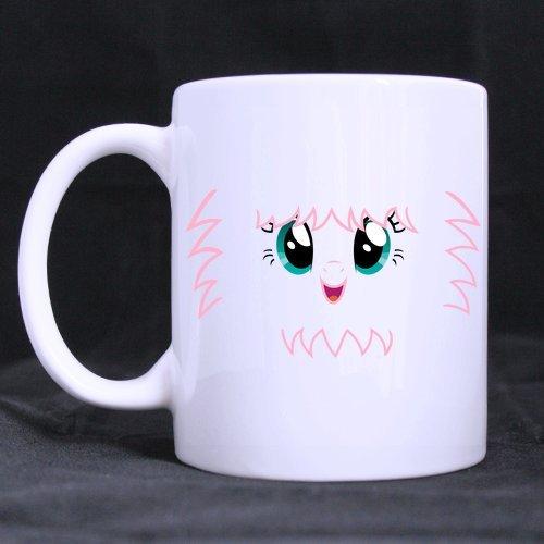 fluffle Puff Face Individuelle Kaffee Becher Bier Tasse Weiß Keramik Wasser Tassen Büro Home Cup 11Oz Zwei Seiten bedruckt