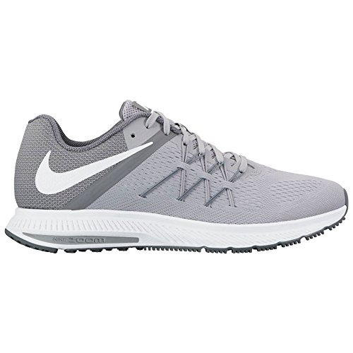 Nike Zoom Winflo 3, Chaussures de Running Entrainement Homme Wolf Grey/White/Cool Grey