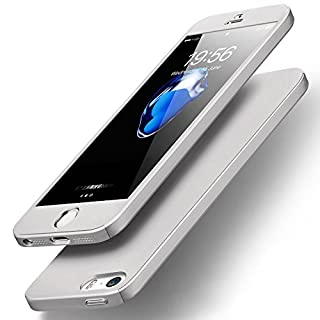iPhone 5 Case, Aodoor Premium Anti-Scratch PC Hard and Slim Thin Back Case Cover for iPhone 5 - Silver