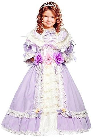 COSTUME ROBE CARNAVAL EPOQUE BELLE fancy dress halloween cosplay veneziano party 50767 Size 10/XL