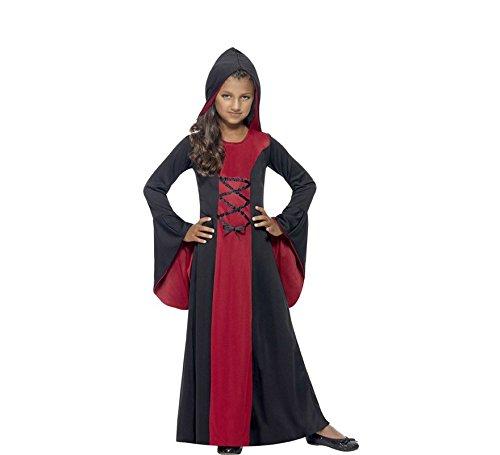 Disfraz Vampiresa Encapuchada Para Nina Disfraceslandia - Disfraz-angel-nia