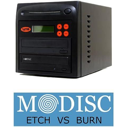 1 Systor M-Disc 24X CD/DVD torre duplicadora