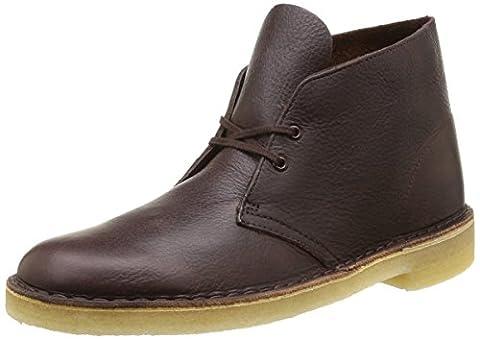 Clarks Originals Desert Boot, Herren Kalt gefüttert Desert Boots Kurzschaft Stiefel & Stiefeletten, Braun (Brown Tumb), 42
