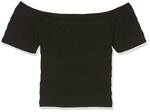 New Look Girl's Shirred Bardot T-Shirt