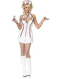 Leg Avenue Krankenschwester Kostüm, 1 Stück