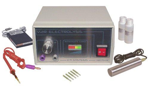 V2R galvanische Elektrolyse-System zur dauerhaften Haarentfernung Gesicht / Körper