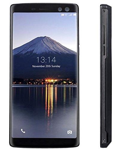 DOOGEE BL12000 PRO - 6.0 pollici (rapporto 18: 9) FHD + Smartphone Android 4G, carica rapida batteria 12000mAh, Octa Core da 2,5 GHz 6 GB + 128 GB, Quattro fotocamere - Nero