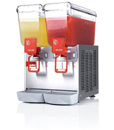Dispensador de bebidas frías 2 x 12 x P470 litros-L360-UGOLINI x H570 mm