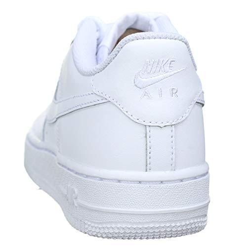 Nike Air Force 1, Zapatillas de Baloncesto Unisex Niños, Blanco (White/White-White), 39 EU