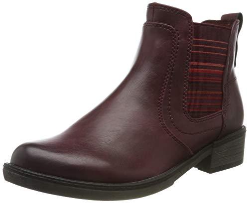 Tamaris Damen 1-1-25012-23 Chelsea Boots, Rot (Vine 558), 39 EU