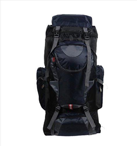 LAIDAYE Outdoor-Paket Bergsteigen Tasche 75L Große Kapazität Paket Reisetasche Rucksack Umhängetasche 3