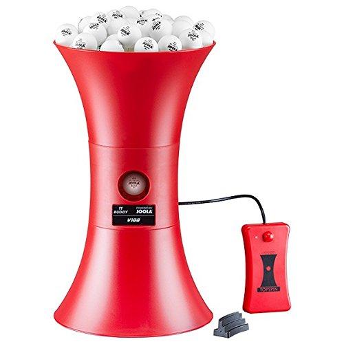 Preisvergleich Produktbild JOOLA Tischtennis-Roboter TOPSPIN V100,  Rot