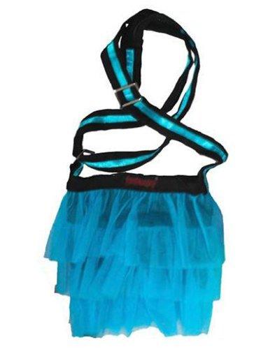 Insanity, Borsa a spalla donna Multicolore Multicolore Multicolore (Blu fluo)