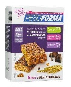 Pesoforma Barrette Cereali e Cioccolato 372 gr