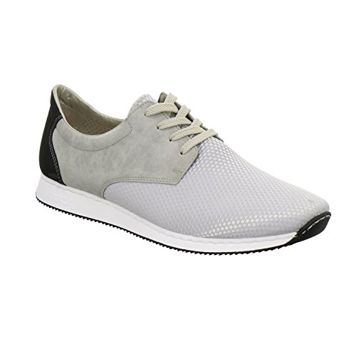 Rieker 56020 Women Low-top, Baskets Basses femme Gris